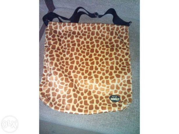 Mala Nici padrão girafa