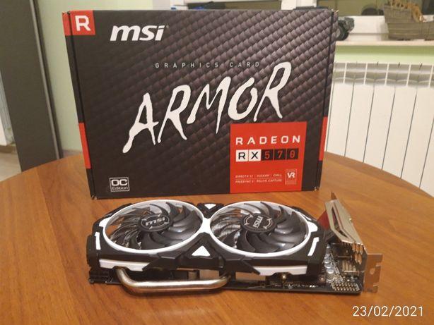 Msi Radeon RX 570 ARMOR OC 4 GB GDDR5