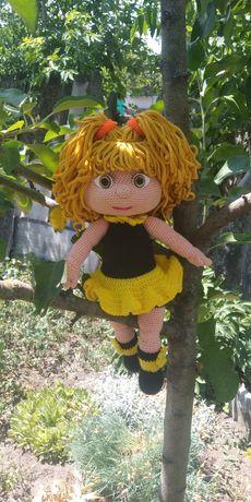 Вязаная кукла, хороший подарок