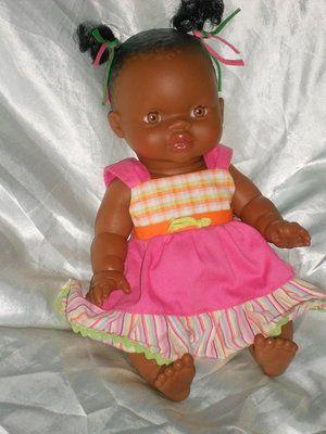Ванильная куколка- мулатка