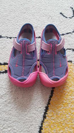 Sandały dla dziewczynki NIKE SUNRAY PROTECT r:25, stan BDB!