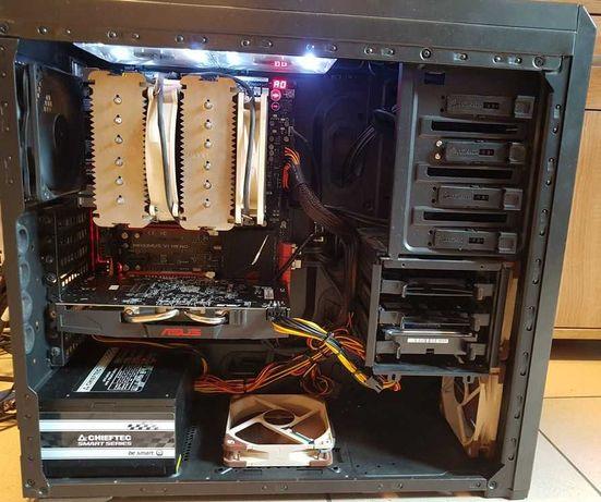 Komputer do gier i7-4770K (8x3,5GHZ) 16GB RAM ATI RX 470 (4GB) SSD 240