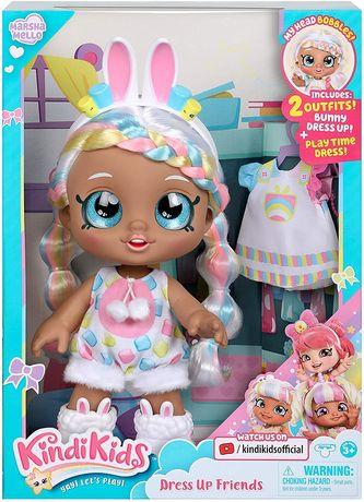Kindi Kids большая кукла Кинди Кидс зайка Марша Меллоу Kindi Kids