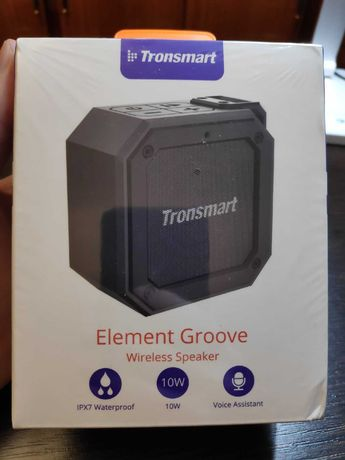 Bluetooth колонка Tronsmart Element Groove 10W Новая! 2000р