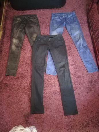 Pepe Jeans, spodnie 29/34 3pary nowe