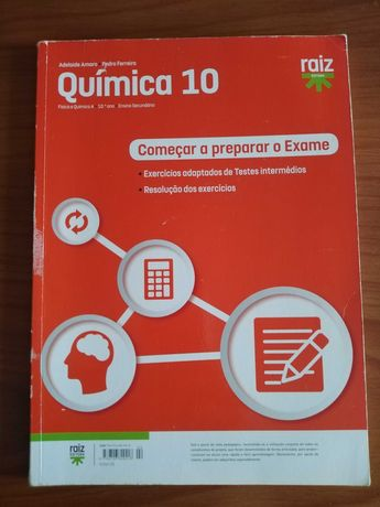 Fisica e Quimica 10º e 11ºano- Cadernos de atividades (como novos)