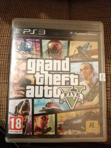 Grand theft auto five na ps3