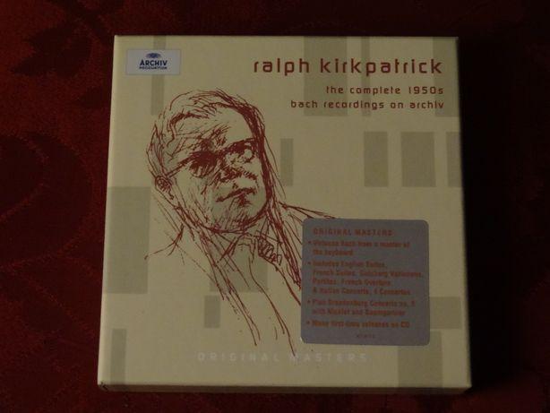 BACH, J. S. – RALPH Kirkpatrick   Archiv P. – 8 CD's