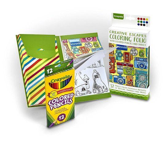 Дорожный набор для творчества от Crayola