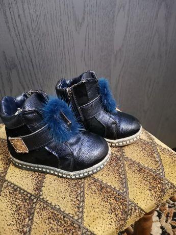 Зимние ботинки, сапожки на девочку