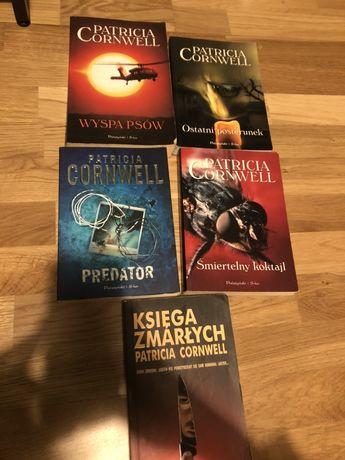 Ksiazki- Patrcia Cornwell (5 bestsellerow)
