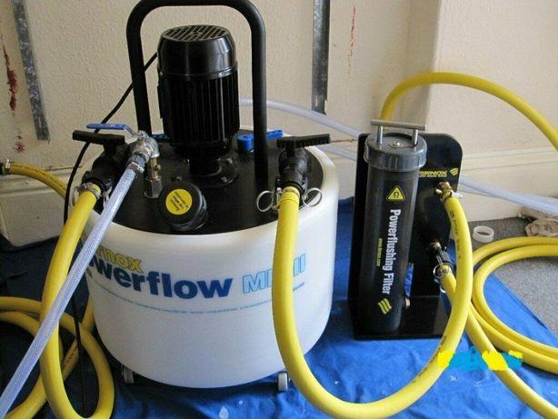 Maszyna do płukania instalacji CO Fernox Pompa + adaptery