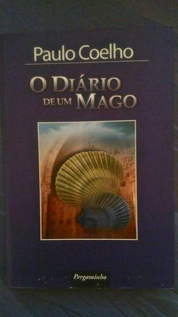 """Livro """"O Diário de Um Mago"""" de Paulo Coelho"""