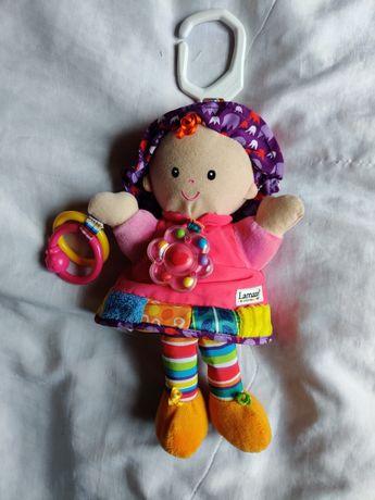 Кукла, куколка - подвеска, развивающая игрушка для малышей Tomy Lamaze