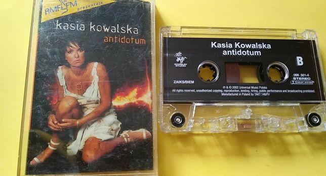 Kasia Kowalska – Antidotum , 2002 KASETA MAGNETOFONOWA