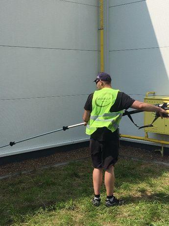 Firma sprzątająca / Usługi porządkowe - Mycie elewacji fasad