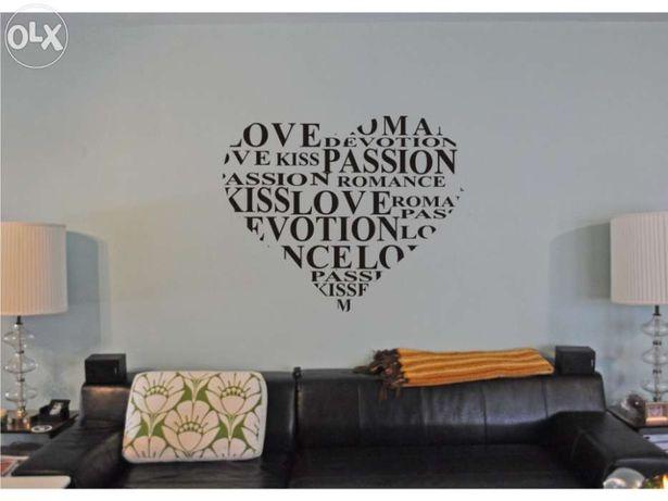 """Vinil decorativo/vinil de parede """"LOVE"""""""