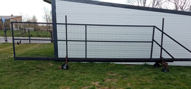 Brama przesuwna 5x1,3m. 6x1,3m.