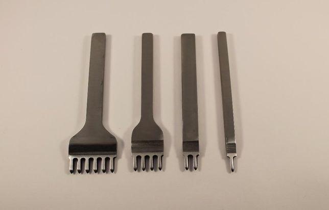Пробойники 4мм ромбовидной формы зубов (инструмент для кожи)