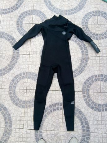 Fatosde surf Billabong rev. 4'3 Muttant chest zip 4/3 usado size MT