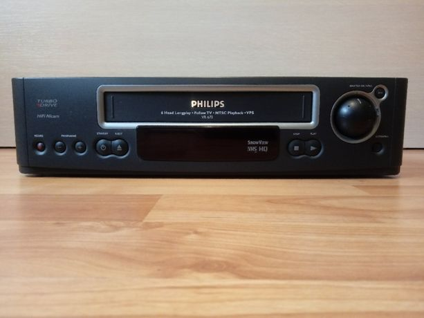 Odtwarzacz kaset VHS / PHILIPS