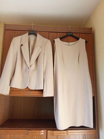 kostium BIALCON marynarka + sukienka