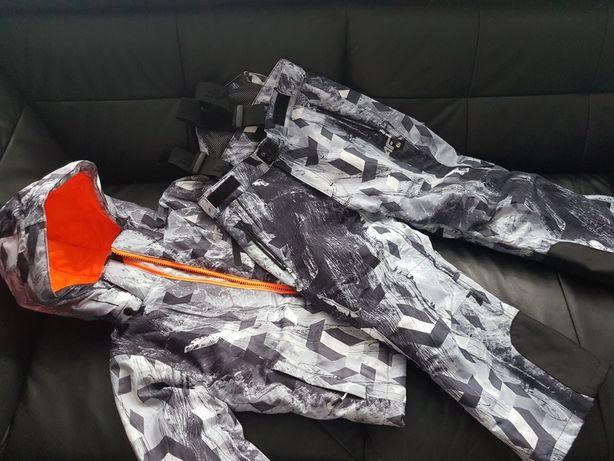 Kurtka spodnie narciarskie 4F rozmiar 122