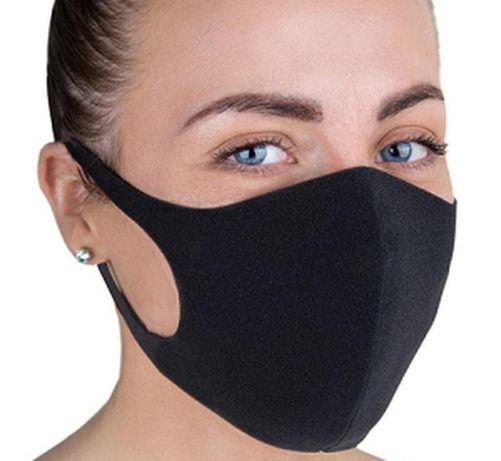 Pitta Fashion для лица Защитная Маска Черная Мужская Женская