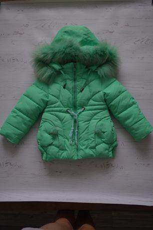 Детская зимняя курточка на 2 года