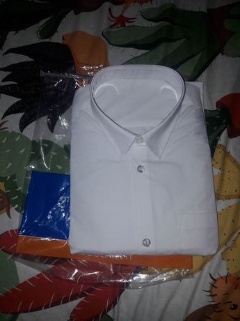 Белая рубашка George 17-18лет 179-183см