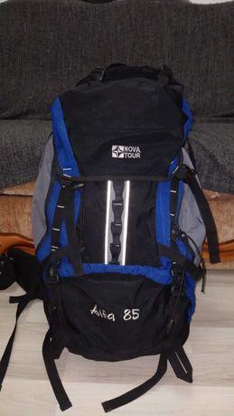 рюкзак Nova tour  alfa 85 L ABC  туристический походный со свистком