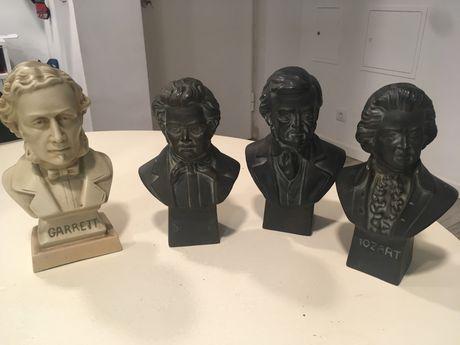4 bustos importantes na historia
