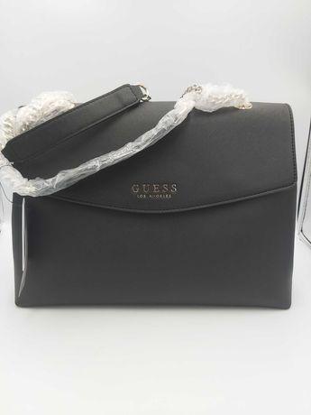 NOWA torebka GUESS kuferek czarna torba elegancka