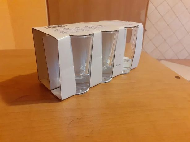 Nowe kieliszki do wódki 6 szt x 25 ml