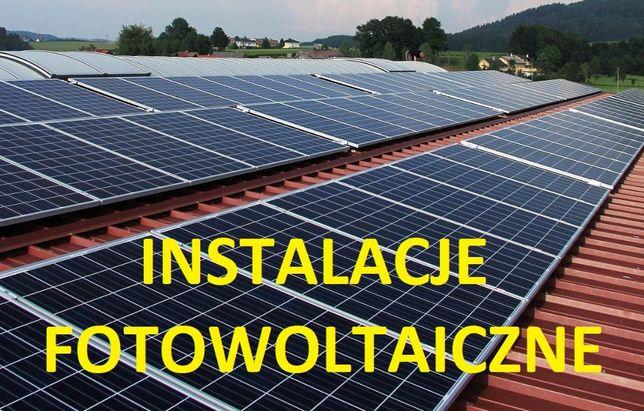 Fotowoltaika panele instalacja 10kW na gruncie z montażem GWARANCJA
