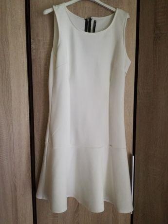 Kremowa sukienka cropp L