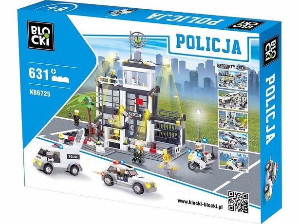 Klocki BLOCKI - POLICJA 631 el. Posterunek