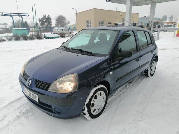 Śliczny Renault Clio*1.2 benzyna*Bez wkładu*5 drzwi*Model 2004*Niemcy