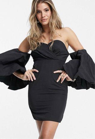 Missguided ASOS ZaRa новое женское платье черное мини вечернее