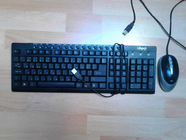 teclado Lifetech + rato ótico Canyon