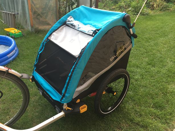 Przyczepka rowerowa Burley D'lite X dwuosobowa wózek podwójny