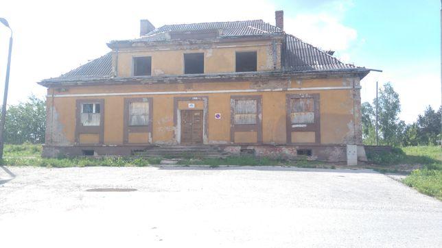 Budynek po bylym dworcu PKP