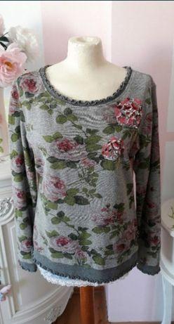 TWIN SET włoski sweter Jedyny Taki !