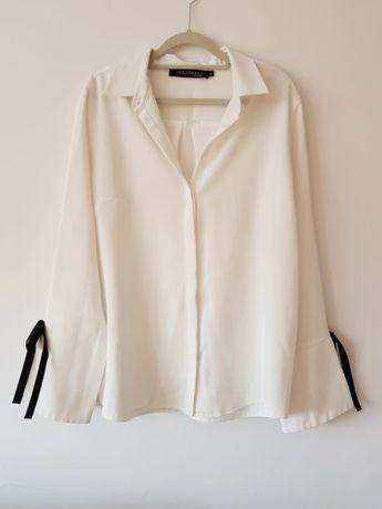Elegancka bluzka koszula z wiązaniem Top Secret roz. 42 L