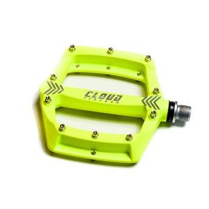 Nowe Pedały platformy Cloud FAT 1 Yello Neon DH FR Enduro BMX MTB 414g