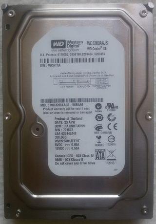 """Disco Western Digital 320 Gb 3.5"""" SATA"""