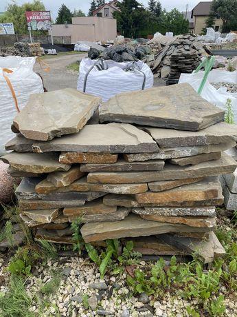Łupek Górski GR 5 cm Twardy Kamień na Ścieżkę Chodnik Taras Bieszczad