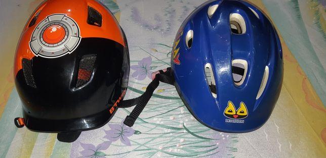 Vendo 2 capacetes de bicicleta