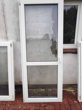 Okno Drzwi Balkonowe Vetrex Białe 92cm x 228cm