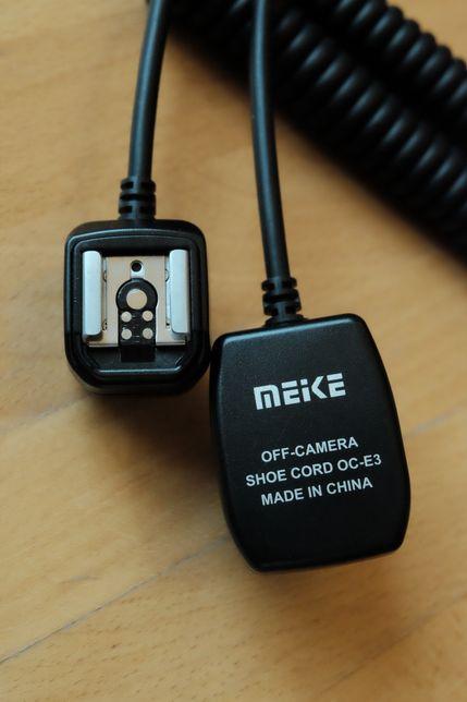 Kabel do lampy błyskowej Meike OC-03 Canon
